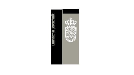 Logo Königlich Dänische Botschaft Berlin