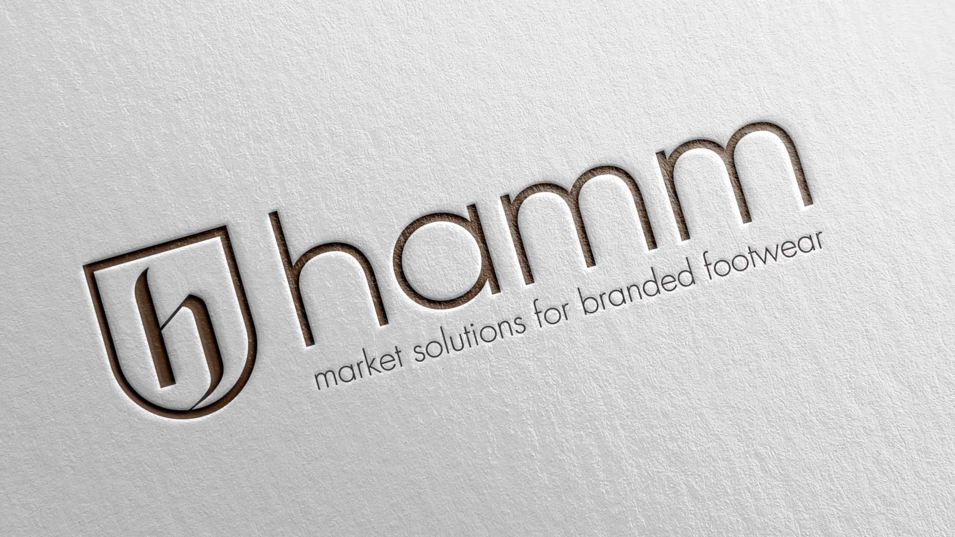 artventura-Projekt Coporate-Design-Entwicklung für hamm |market solutions for branded footwear: Logo als Wort-Bild-Marke